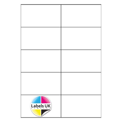 105 x 59 A4 Laser Sheets