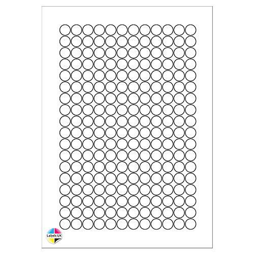 13Ø A4 Laser Sheets (CIRCLES)