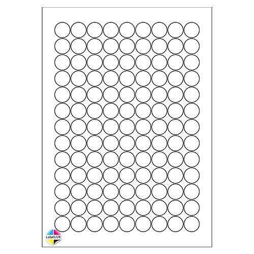 19Ø A4 Laser Sheets (CIRCLES)