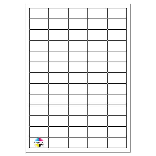 38.1 x 21.2 A4 Laser Sheets