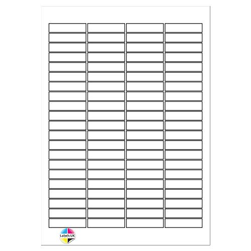 46 x 11.1 A4 Laser Sheets