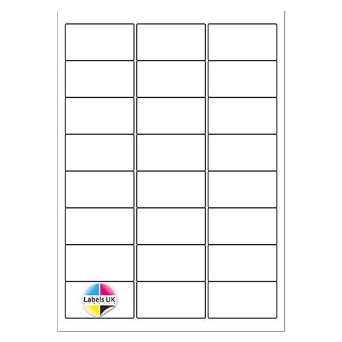 63.5 x 33.9 A4 Laser Sheets