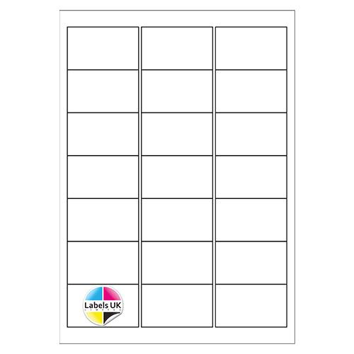 63.5 x 38.1 A4 Laser Sheets