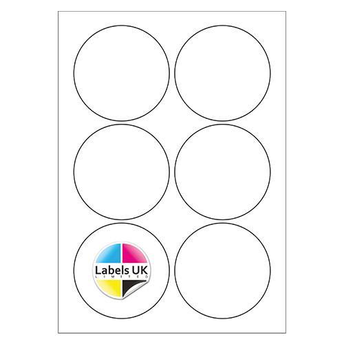 88Ø A4 Laser Sheets (CIRCLES)