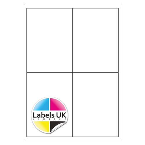 99.1 x 139 A4 Laser Sheets