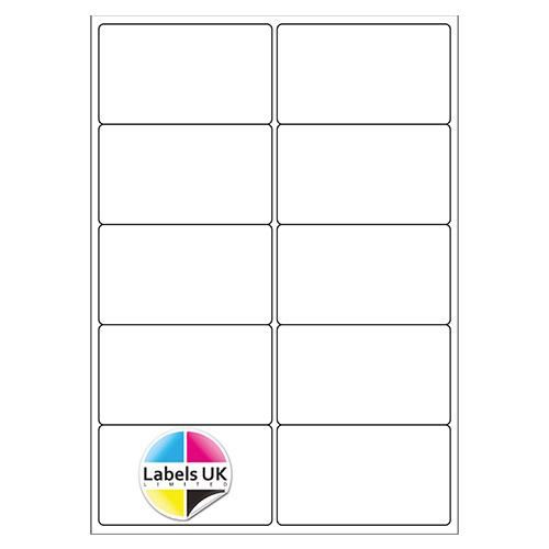 99.1 x 57.3 A4 Laser Sheets